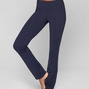 Athleta Straight Up Yoga Pant Navy Blue M